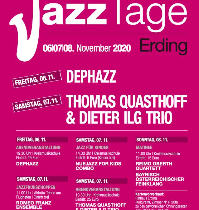 Jazztage Erding 2020